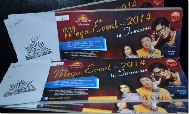 rajesh mega event australia 2014