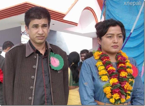 sudarshan gautam and rekha thapa