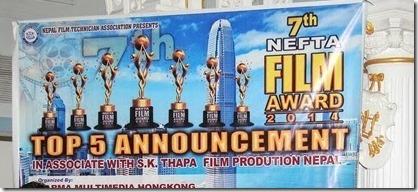 7th nefta film award nomination