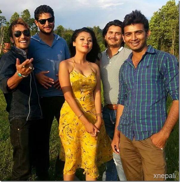 harshika with khatarnak team