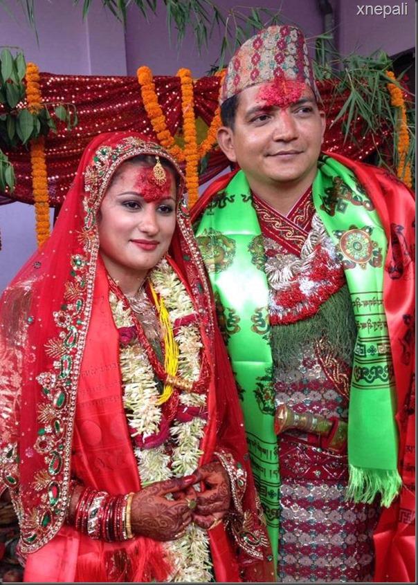 risha singh and gajendra thapa marriage  (8)