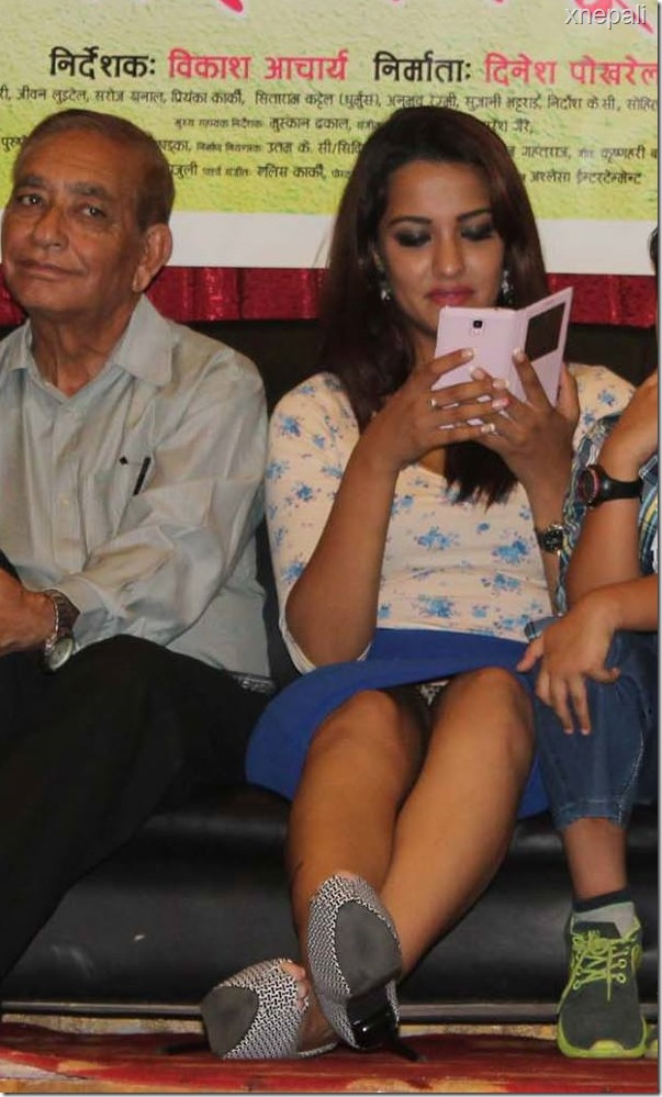 priyaka karki in nai nabhannu la 2 success event