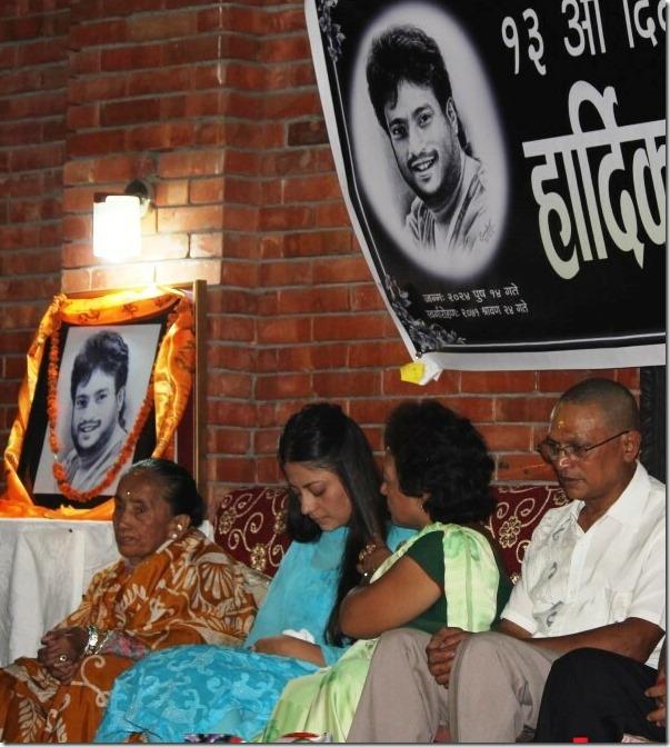 shree krishna shrestha death 13 day