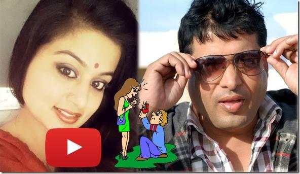 chhabi raj ojha proposes shilpa pokharel
