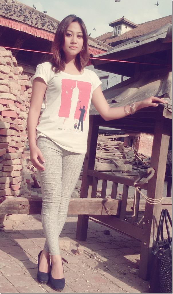 ashishma nakarmi dharahara tshirt