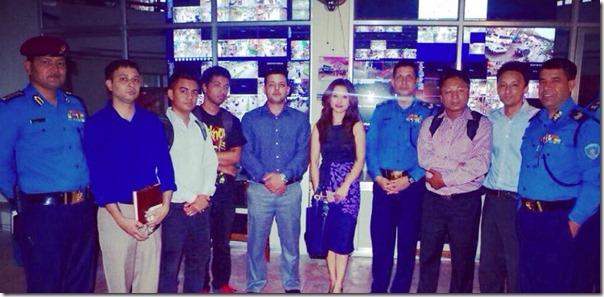 namrata shrestha launch hamro police app