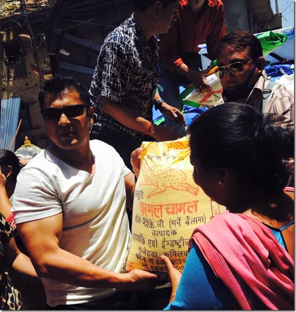 dhiren shakya earthquake relief