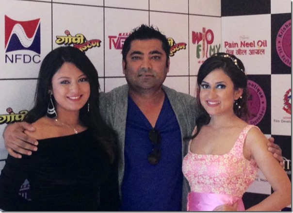 sunil rawal with actresses