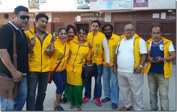 woda number chha team in theater