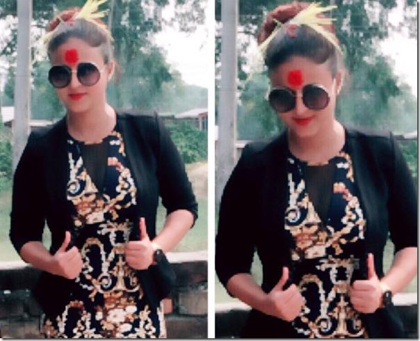 Smjta Thapa Dashain 2015