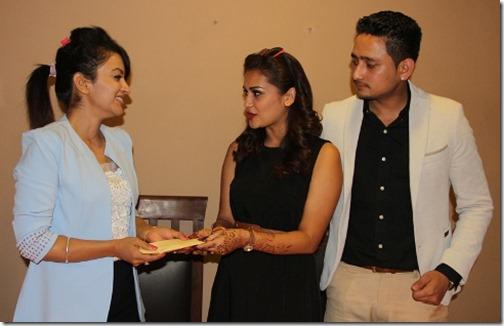 reema bk donate the honeymoon fund