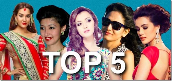 top 5 women in nepal