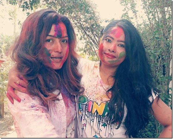 rekha thapa and rajani kc holi holi 2016