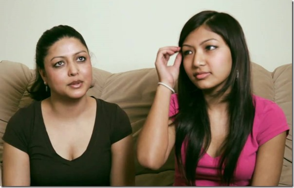 pooja and daughter