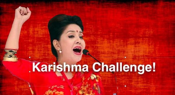 karishma manandhar challenge