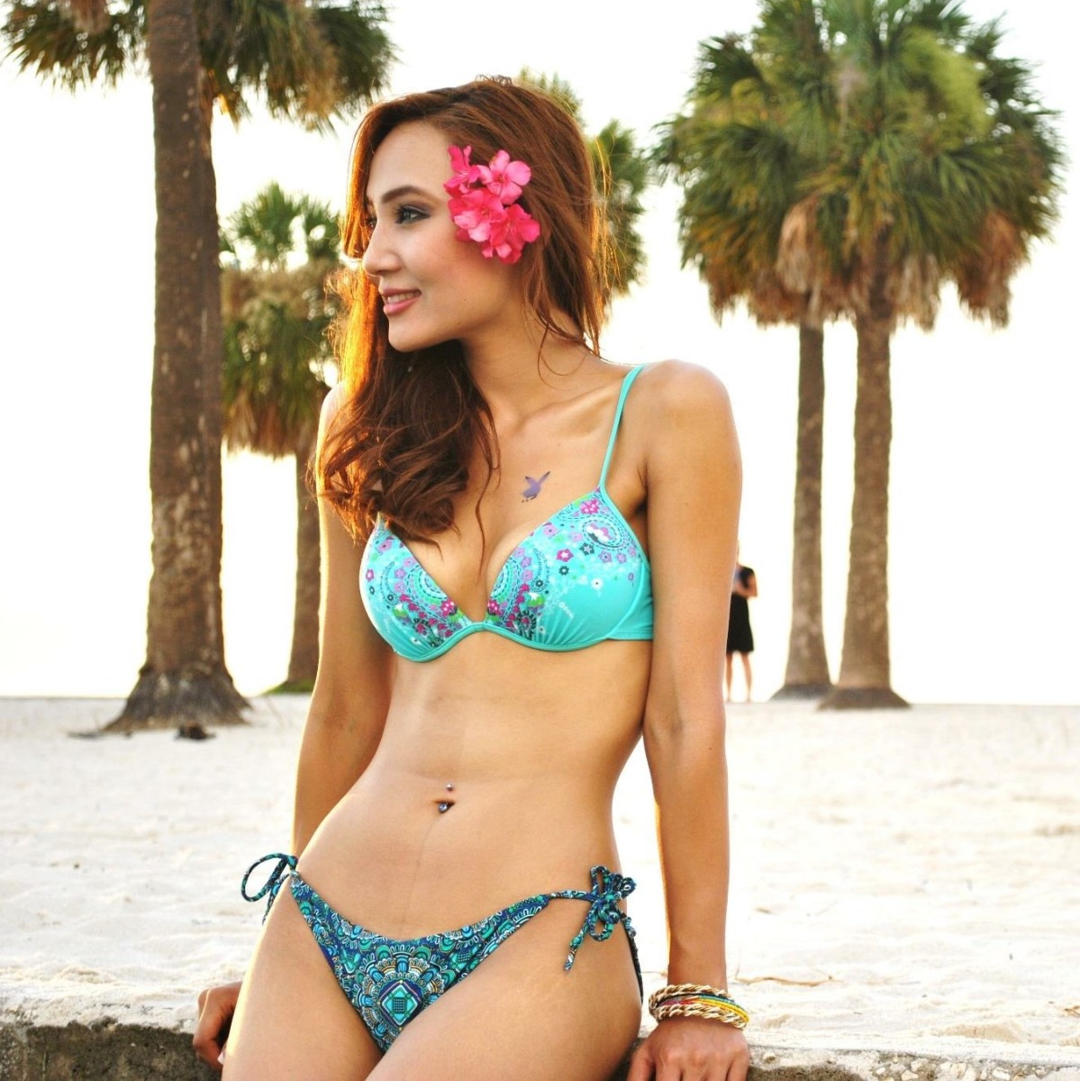 Sumi Moktan bikini avatar in Veitnam, Miss Tamang 2012 and Jhyanakuti actress