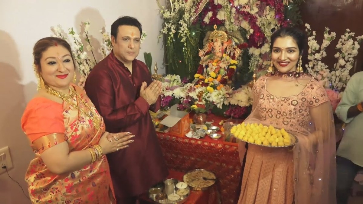 Is Bollywood star Govinda's wife, Sunita, a Nepali?