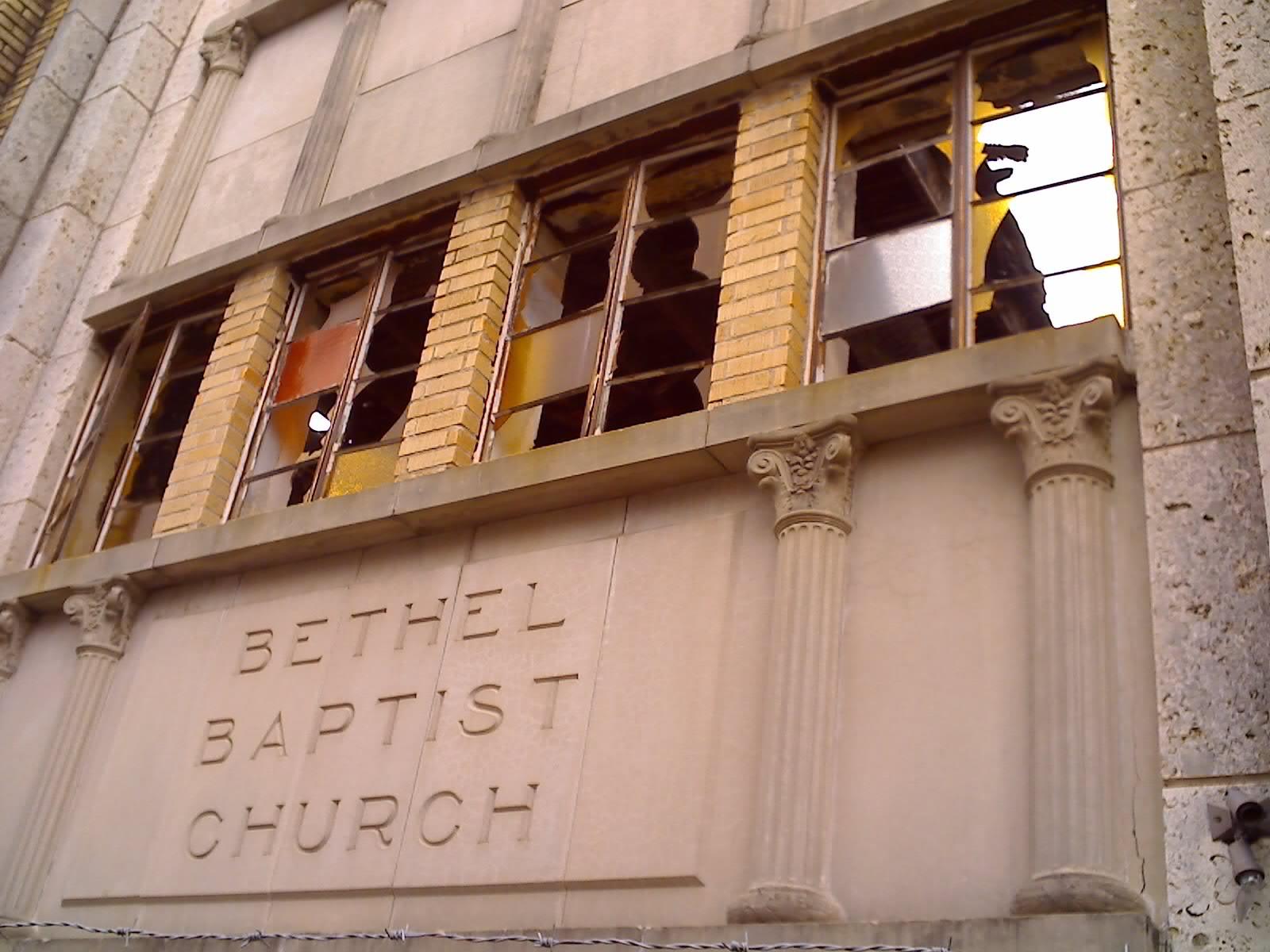 bethel baptist church downtown houston tin can alley