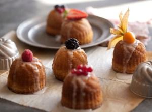 Mini fruits cakes
