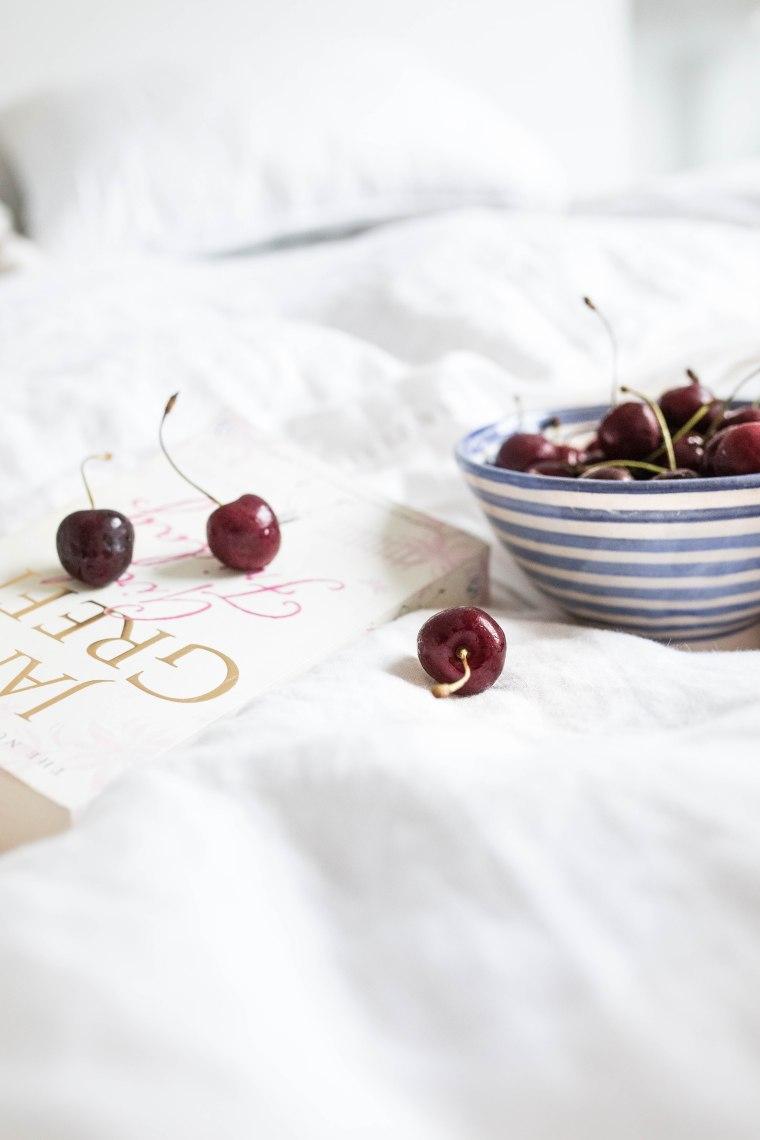 cherries in bed (1 of 1)