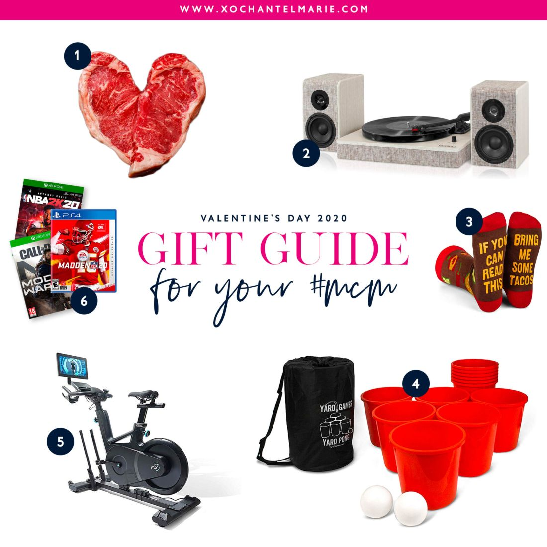 2020 Valentine's Day Gift Guide for him