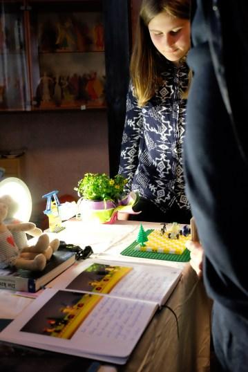 Leseprobe und Live-Demo in der Ausstellung...