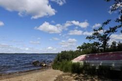 Insel Bolmsö - nicht nur direkt am Wasser ein Postkartenidyll... traumhaft