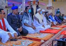 Madaxweynaha Jamhuuriyadda Somaliland Oo Shacabka Kala Qayb galay Tukashada Salaadda Ciidal
