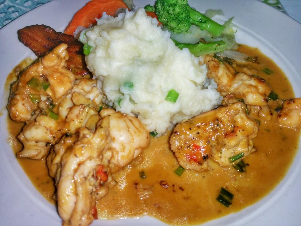 The Stewed Lobster (Creole Style) will make your taste buds very happy.