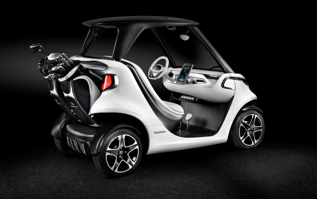 Mercedes-Benz Style Edition Garia Golf Car (3)