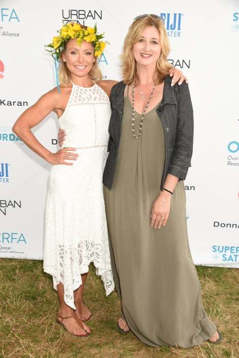 Kelly Ripa, Audra Moran photo by Rob Rich/SocietyAllure.com © 2016 robwayne1@aol.com 516-676-3939