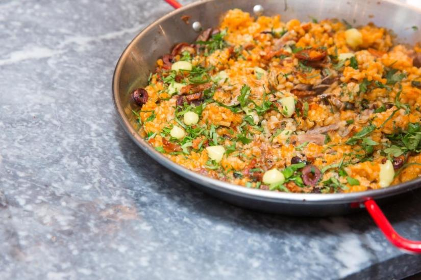 Chefs Club Counter Opening - Duck Rice - Photographer Benjamin Lozovsky- BFA.com