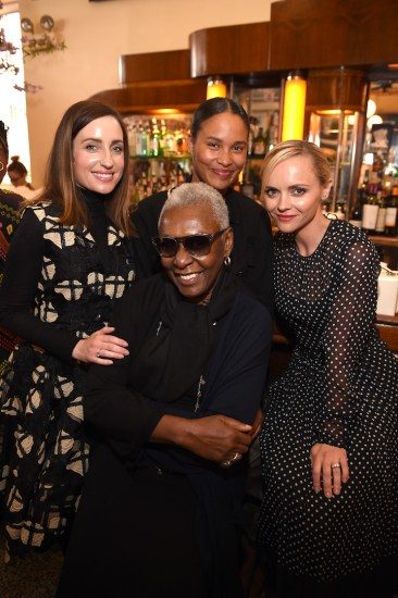 Zoe Lister-Jones, Bethann Hardison, Joy Bryant and Christina Ricci