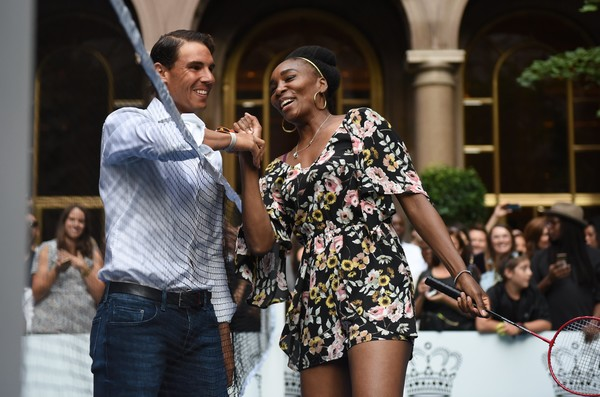 Rafael Nadal and Venus Williams Face-Off at Palace Invitational Badminton Tournament (6)