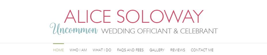 Alice Soloway Weddings Wedding Officiant New York City