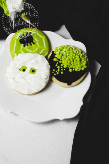 Halloween Cookies for Beginner Bakers How to Make Couldron Cookies, Mummy Cookies and Spider Web Cookies