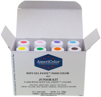 Americolor Gel Based Food Coloring for cake decorating. Holiday Gift Guide 2017: for the home baker. It can be so difficult to shop for a home baker and I don't know where to start. But this guide is perfect! These tools and gift ideas are amazing! I love the cute necklace to the stand mixer gifts! They all work for someone who loves to bake! Saving for later!