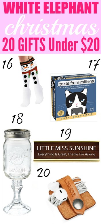 White Elephant parties are so much fun! You never know what you are going to get! This guide is amazing and gives me so many gift ideas for this years party! I love that these ideas are fun and silly too! Pinning for later!