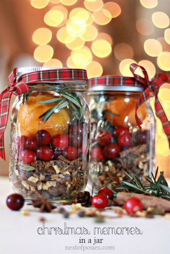 Christmas gifts in a jar are brilliant! I love this idea! It's great for last minute or for your friends! It's so easy to turn mason jars into awesome gifts like brownie mix, homemade bath fizzies and a fun holiday survival kit! Making your own gifts is super thoughtful and makes everyone feel warm and cozy! These gifts are great for a crafty person. Easily turn mason jars into DIY Christmas gifts! For sure saving for later!