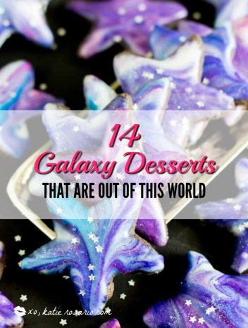 OMG! These galaxy desserts are insane! They are so pretty and vibrant in color. I have been seeing these treats all over Instagram and social media. This is a must for all home bakers. I can't wait to make the galaxy cookies, cakes and many other treats! I have seen this trend take over hair, makeup and now desserts which I can't get enough of! Pinning for later!