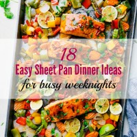 18 Easy Sheet Pan Dinner Ideas for Busy Weeknights