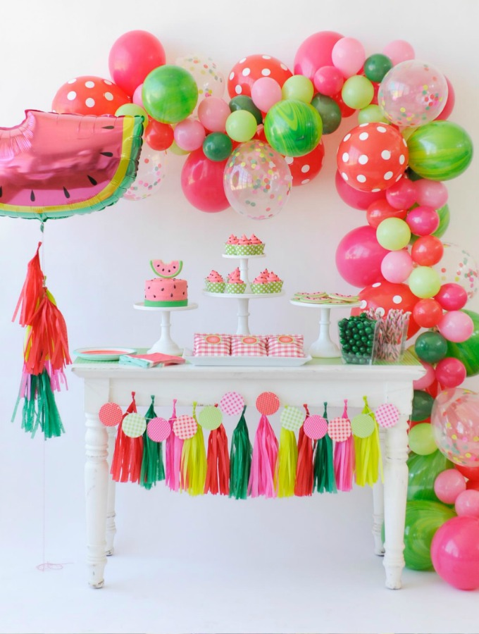 diy watermelon party ideas