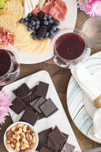 Who doesn't love wine and chocolate but together that's just magic! I am so excited that I can throw my own wine & chocolate tasting party! It's a brilliant girls night in idea that is just amazing! These DIY tips and tricks make throwing this party a breeze! This is a must try! #DIY #girlsnightin #winetasting #chocolate #DIYparty #winepairings