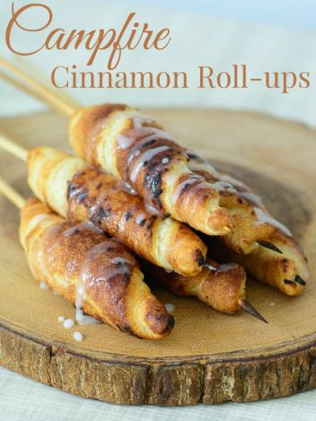 Campfire Cinnamon Rolls | Grilled Desserts Recipes