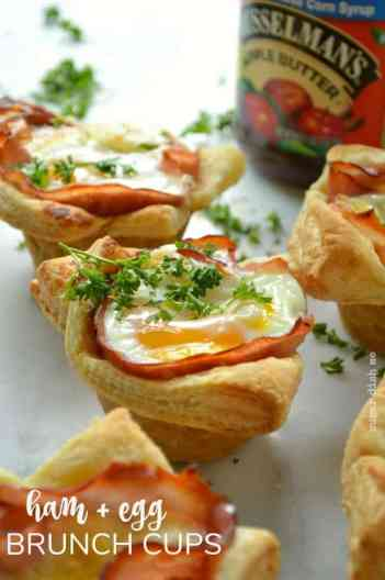 Ham Egg Breakfast Cups | Easy Brunch Recipes