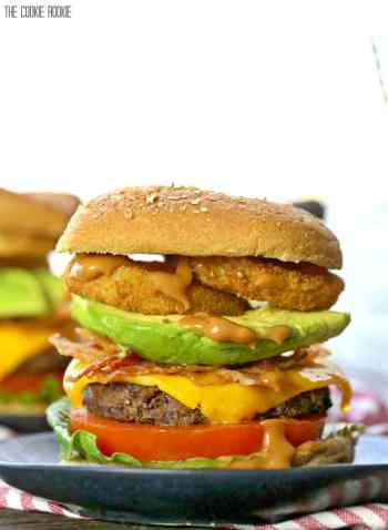 loaded cowboy burgers, easy grilling recipes