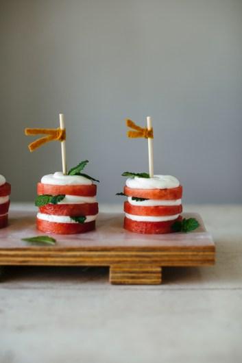 Watermelon mini Cakes, No Bake Summer Dessert Recipes
