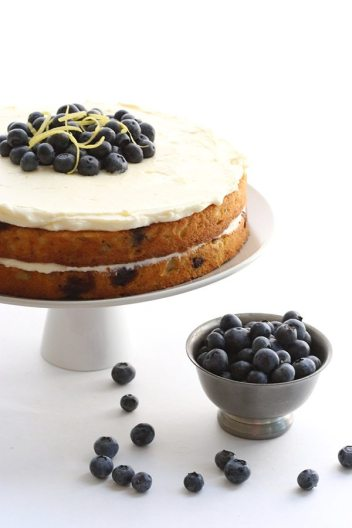 Zucchini Blueberry Cake with Lemon Frosting | Easy Desserts Made From Zucchini