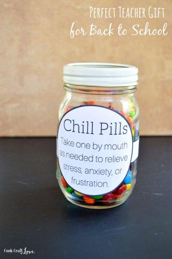 Chill Pill   DIY Back to School Teacher Gift