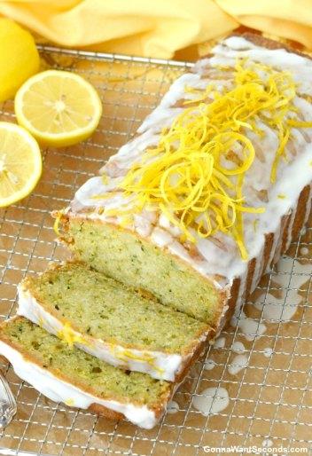 Lemon Zucchini Bread | Easy Desserts Made From Zucchini